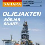 Oljeriggfartyget Atwood Achiever hyrt av amerikanska Kosmos Energy på väg mot Västsaharas kust i november 2014. Bild: Western Sahara Resource Watch. Västsahara nr 4 2014