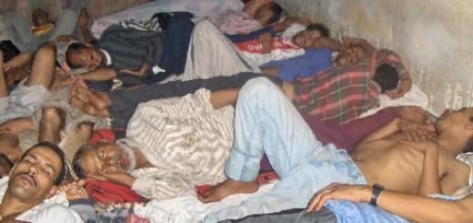 Det ökända Svarta fängelse i El Aaiún 2005. Fotograf: Anonym