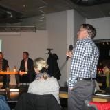 75 personer kom till ABF och SSU:s möte i Göteborg med Hans Linde (V) och Johan Buser (S). Bild: Ingrid Ekman
