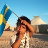 Västsahariskt barn i flyktinglägren. Bild: Tidskriften Västsahara