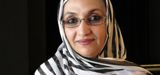 Aminatou Haidar, västsaharisk människorättsaktivist. Bild: Lena Thunberg