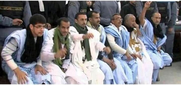 Västsaharier dömda till livstid eller 20 års fängelse för protester mot stölden av Västsaharas naturresurser.